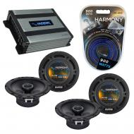 Compatible with Pontiac GTO 2004-2006 Factory Speaker Replacement Harmony (2) R65 & Harmony H...