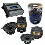 Compatible with Porsche 911 1973-1997 Factory Speaker Replacement Harmony R46 R5 & Harmony HA...