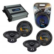 Compatible with Saab 9-2x 2005-2005 Factory Speaker Replacement Harmony (2) R65 & Harmony HA-...