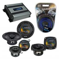 Compatible with Saab 9000 Series 1986-1998 OEM Speaker Replacement Harmony Speakers & Harmony...