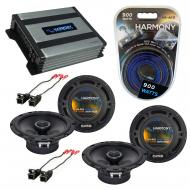 Compatible with Saturn ION 2003-2005 Factory Speaker Replacement Harmony (2) R65 & Harmony HA...