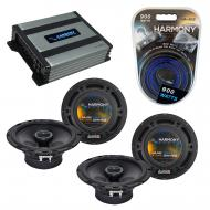Compatible with Saturn VUE 2006-2009 Factory Speaker Replacement Harmony (2) R65 & Harmony HA...