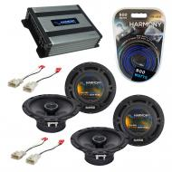 Compatible with Scion xD 2008-2015 Factory Speaker Replacement Harmony (2) R65 & Harmony HA-A...