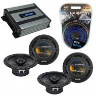 Compatible with Smart Fortwo 2008-2010 Factory Speaker Replacement Harmony R65 & Harmony HA-A...