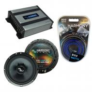 Compatible with Smart Fortwo 2008-2010 Factory Speakers Replacement Harmony C65 & Harmony HA-...