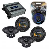 Compatible with Subaru Outback 2000-2009 Factory Speaker Replacement Harmony (2) R65 & Harmon...