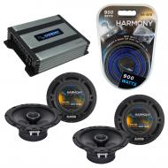 Compatible with Suzuki XL-7 2007-2009 Factory Speaker Replacement Harmony (2) R65 & Harmony H...