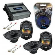 Compatible with Toyota Camry 02 03 04 05 06 OEM Speaker Replacement Harmony (2) R69 R35 & Har...