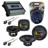 Compatible with Toyota Camry 1983-1986 Factory Speaker Replacement Harmony R4 R65 & Harmony H...