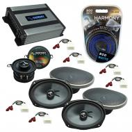 Compatible with Toyota Camry 2002-2006 OEM Speakers Replacement Harmony (2) C69 C35 & Harmony...