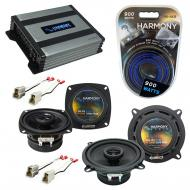Compatible with Subaru GL/DL 1981-1984 Factory Speaker Replacement Harmony R4 R5 & Harmony HA...