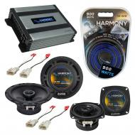 Compatible with Toyota Corolla 1993-1997 Factory Speaker Replacement Harmony R4 R65 & Harmony...