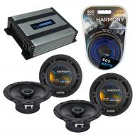 Compatible with Toyota Sienna 1996-2003 Factory Speaker Replacement Harmony (2) R65 & Harmony...