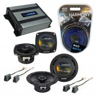 Compatible with Toyota Van 1984-1990 Factory Speaker Replacement Harmony R4 R65 & Harmony HA-...