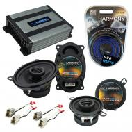 Compatible with Volkswagen Cabriolet 85-93 OEM Speaker Replacement Harmony R46 R35 & Harmony ...