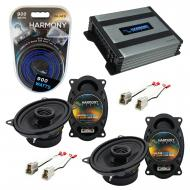Compatible with Volkswagen Dasher 76-81 Factory Speaker Replacement Harmony (2) R46 & Harmony...