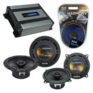 Compatible with Volvo S60 2001-2004 Factory Speaker Replacement Harmony R5 R65 & Harmony HA-A...