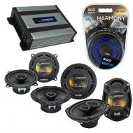 Compatible with Volvo S70 98-00 OEM Speaker Replacement Harmony R65 R5 R69 & Harmony HA-A400....