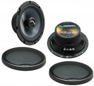 Fits Smart Fortwo 2008-2010 OEM Speaker Upgrade Harmony Premium Speakers C65 Package New