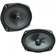 Fits Toyota Camry Sedan 1997-2001 Rear Deck Replacement Harmony HA-C69 Premium Speakers