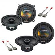 Honda Prelude 1986-1987 Factory Speaker Replacement Harmony R5 R65 Package