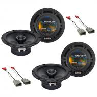 Honda Prelude 1992-1996 Factory Speaker Replacement Harmony (2) R65 Package New