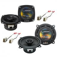 Isuzu Rodeo 1992-1995 Factory Speaker Replacement Harmony R4 R5 Package New