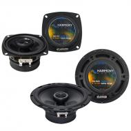 BMW M6 1977-1989 Factory Speaker Replacement Harmony R4 R65 Coax Package New