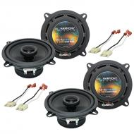 Jeep Cherokee 1988-1996 Factory Speaker Replacement Harmony (2) R5 Package New