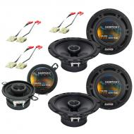 Jeep Grand Cherokee 1993-1995 OEM Speaker Replacement Harmony Upgrade Package