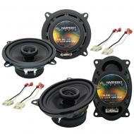 Jeep Wrangler 1985-1996 Factory Speaker Replacement Harmony R46 R5 Package