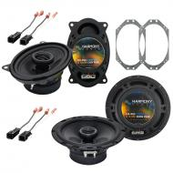 Jeep Wrangler 1997-2006 Factory Speaker Replacement Harmony R46 R65 Package