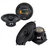 Kia Spectra 5 2005-2008 Factory Speaker Replacement Harmony R65 R68 Package
