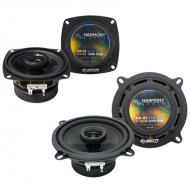Hyundai Scoupe 1991-1995 Factory Speaker Replacement Harmony R4 R5 Package
