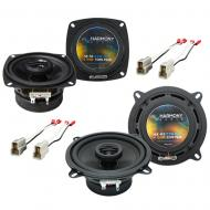 Mazda 626 1986-1987 Factory Speaker Replacement Harmony R4 R5 Package New