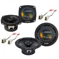 Mazda 626 1988-1989 Factory Speaker Replacement Harmony R4 R65 Package New