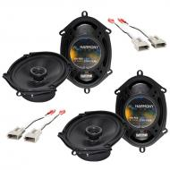Mazda 626 1993-2002 Factory Speaker Replacement Harmony (2) R68 Package New