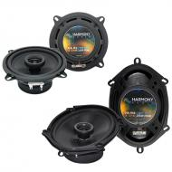 Mazda 929 1988-1991 Factory Speaker Replacement Harmony R4 R5 R68 Package