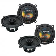 Mercedes E-Class 1998-2002 Factory Speaker Replacement Harmony (2) R5 Package
