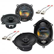 Mercury Tracer 1991-1996 Factory Speaker Replacement Harmony (2) R5 Package