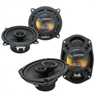 Mini Cooper Coupe 2007-2014 OEM Speaker Replacement Harmony R5 R69 Package