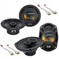 Mitsubishi Galant 2004-2013 OEM Speaker Replacement Harmony R65 R69 Package