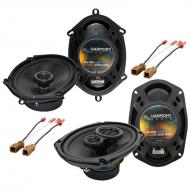 Nissan Altima 1993-1997 OEM Speaker Replacement Harmony R68 R69 Package New