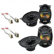 Nissan Maxima 1989-1994 Factory Speaker Upgrade Harmony R46 R69 Package New