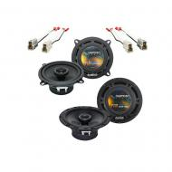 Nissan Pulsar 1987-1990 Factory Speaker Upgrade Harmony R65 R5 Package New