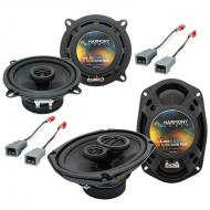 Plymouth Voyager 1984-1995 OEM Speaker Upgrade Harmony R5 R69 Package New