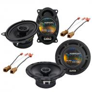 Nissan Sentra 1991-1994 Factory Speaker Upgrade Harmony R46 R65 Package New