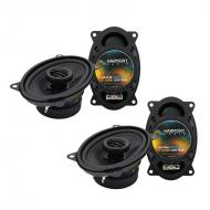 Porsche 944 1983-1993 Factory Speaker Replacement Harmony (2) R46 Package New
