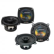 Porsche Boxter 1997-2016 Factory Speaker Upgrade Harmony R4 R5 Package New