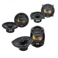 Cadillac DeVille 1985-1987 Factory Speaker Upgrade Harmony Speakers Package New